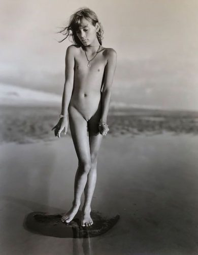Fanny Montalevent, France by Jock Sturges