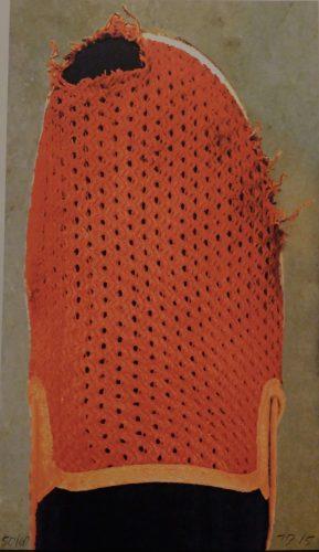 Red Slipper by John Baldessari