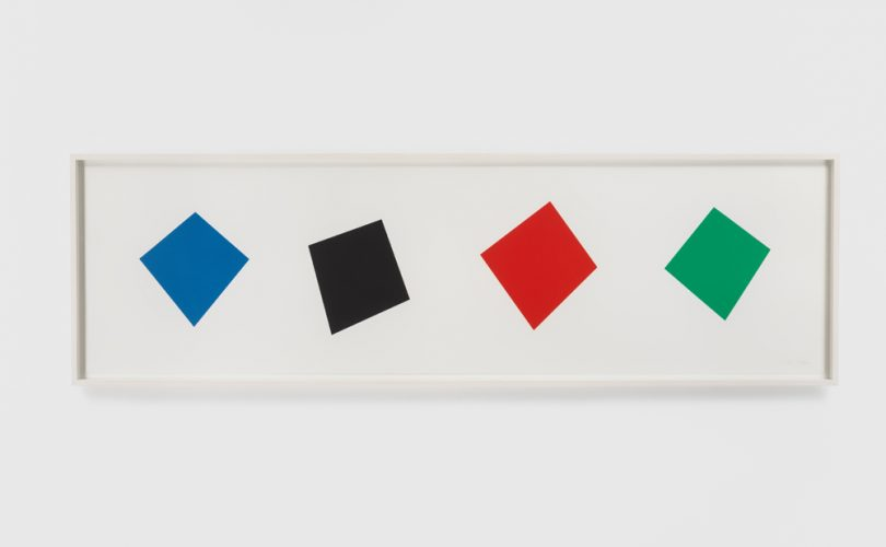 Blue Black Red Green by Ellsworth Kelly