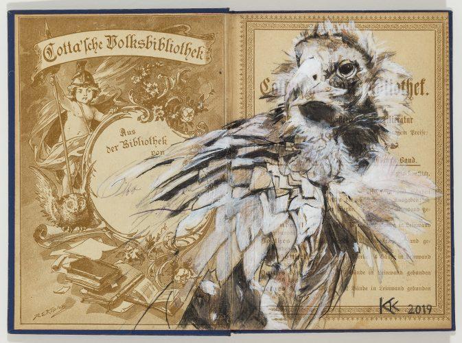 Monk Vulture by Kristin Kolb