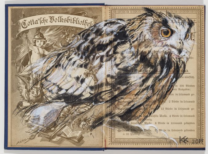 Eagle Owl by Kristin Kolb