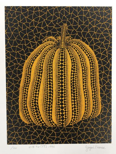 Pumpkin (YT) by Yayoi Kusama at