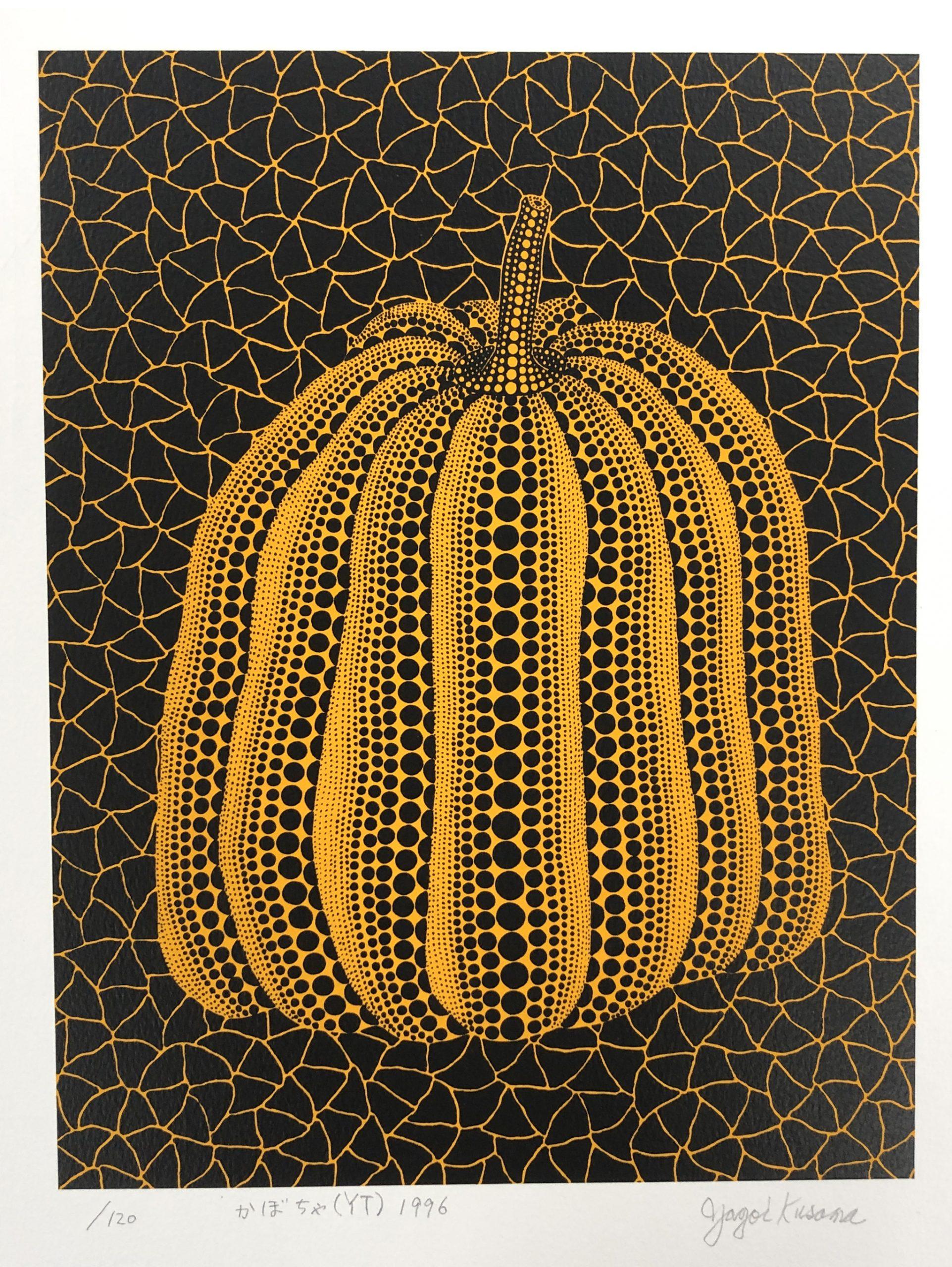 Pumpkin (YT) by Yayoi Kusama