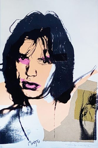 Mick Jagger (141) by Andy Warhol