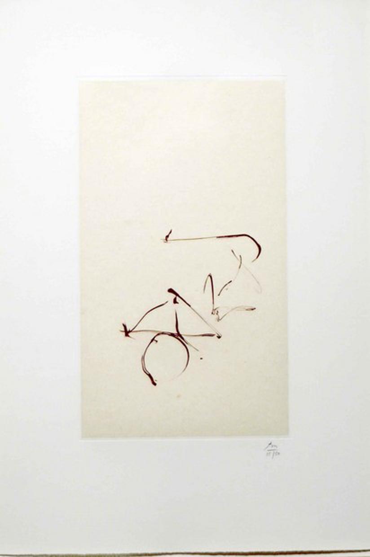 Return, from Three Poems by Octavio Paz by Robert Motherwell