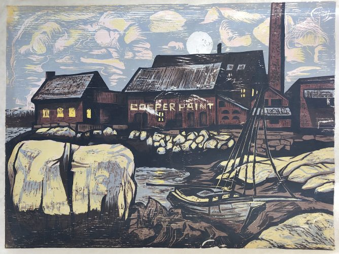Manufactory Twilight by Don Gorvett