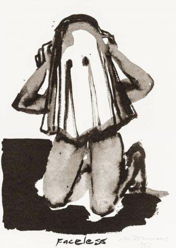 Faceless by Marlene Dumas at