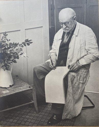Henri Matisse Sketching by Henri Matisse (after)