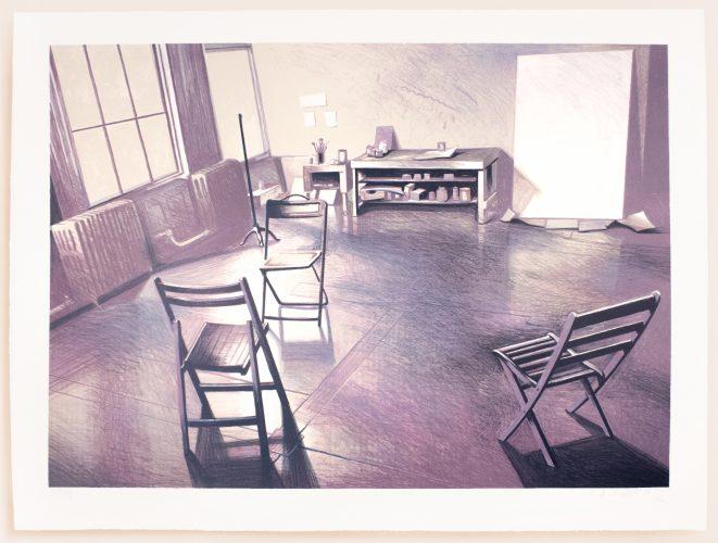 Soho loft studio by Lowell Nesbitt
