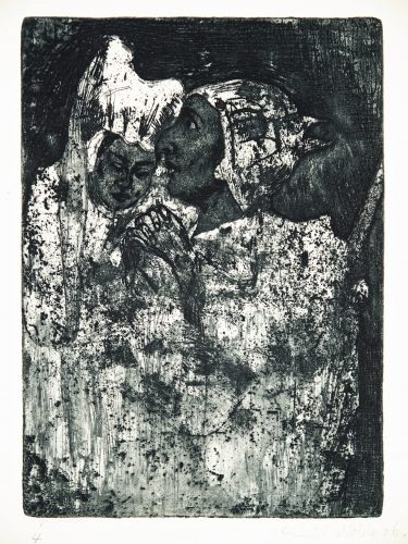 Abschied by Emil Nolde