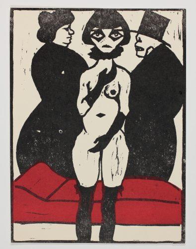 Der Tod als Freier (Death as a Suitor) by Otto Nückel