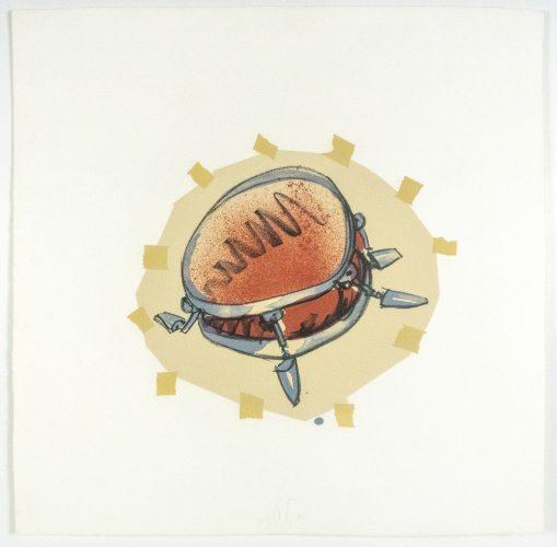 Snare Drum by Claes Oldenburg