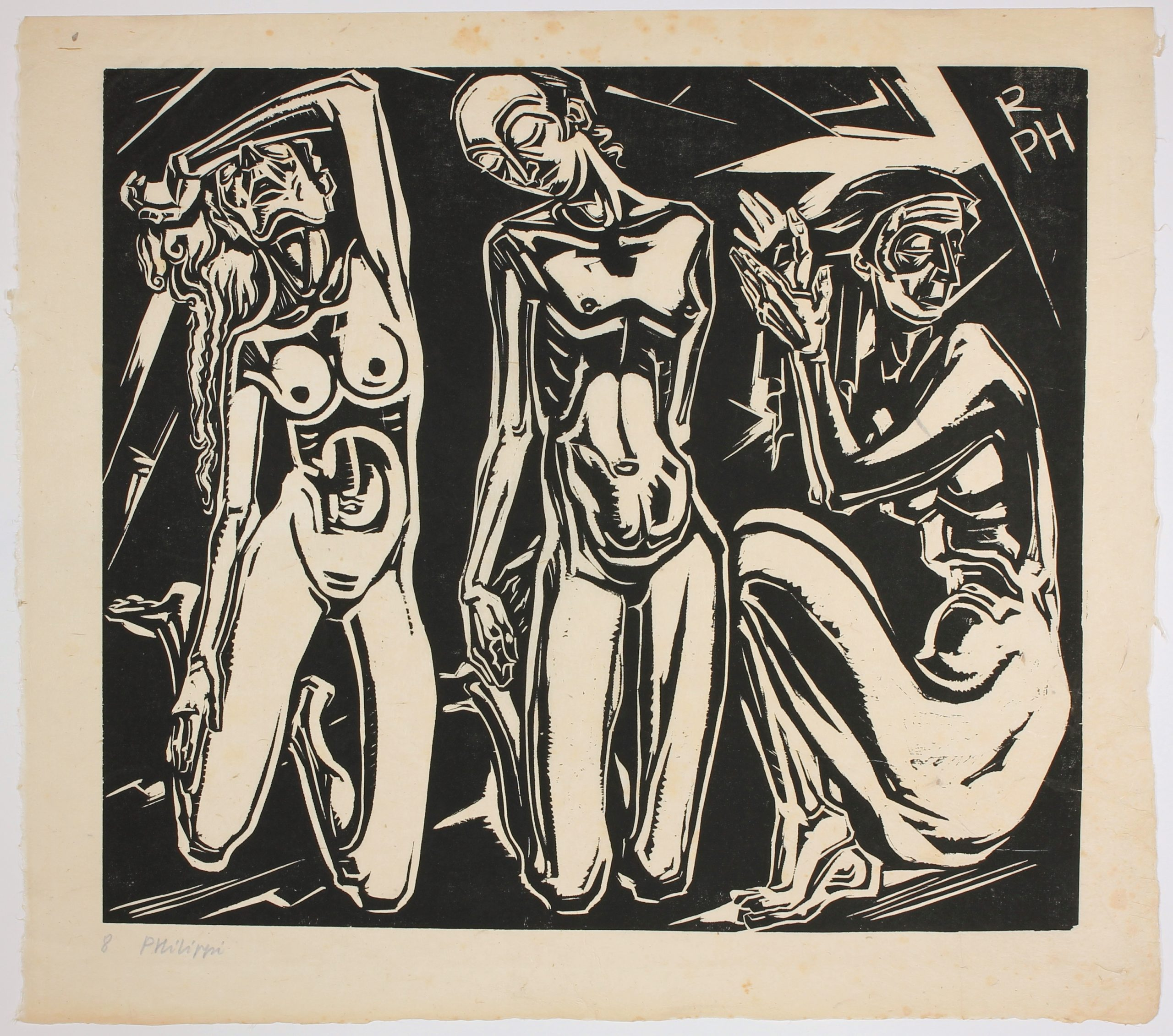 Die Leidenden (The Sufferers) by Robert Philippi