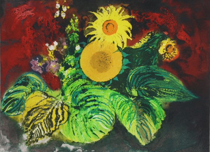 Sunflowers by John Piper