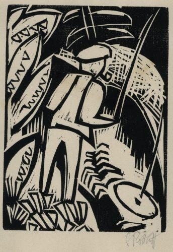 Der Angler by Karl Schmidt-Rottluff at Galerie Henze & Ketterer & Triebold