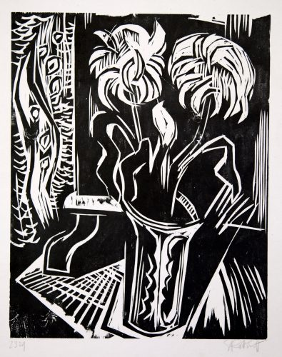Chrysanthemum by Karl Schmidt-Rottluff at