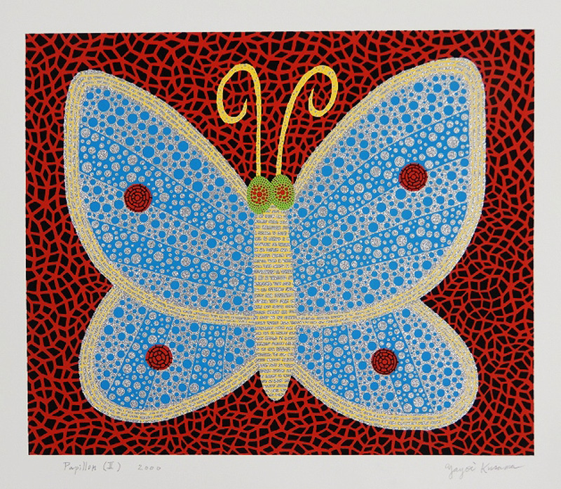 Papillon (II) from Portfolio Amour Pour Toujours by Yayoi Kusama