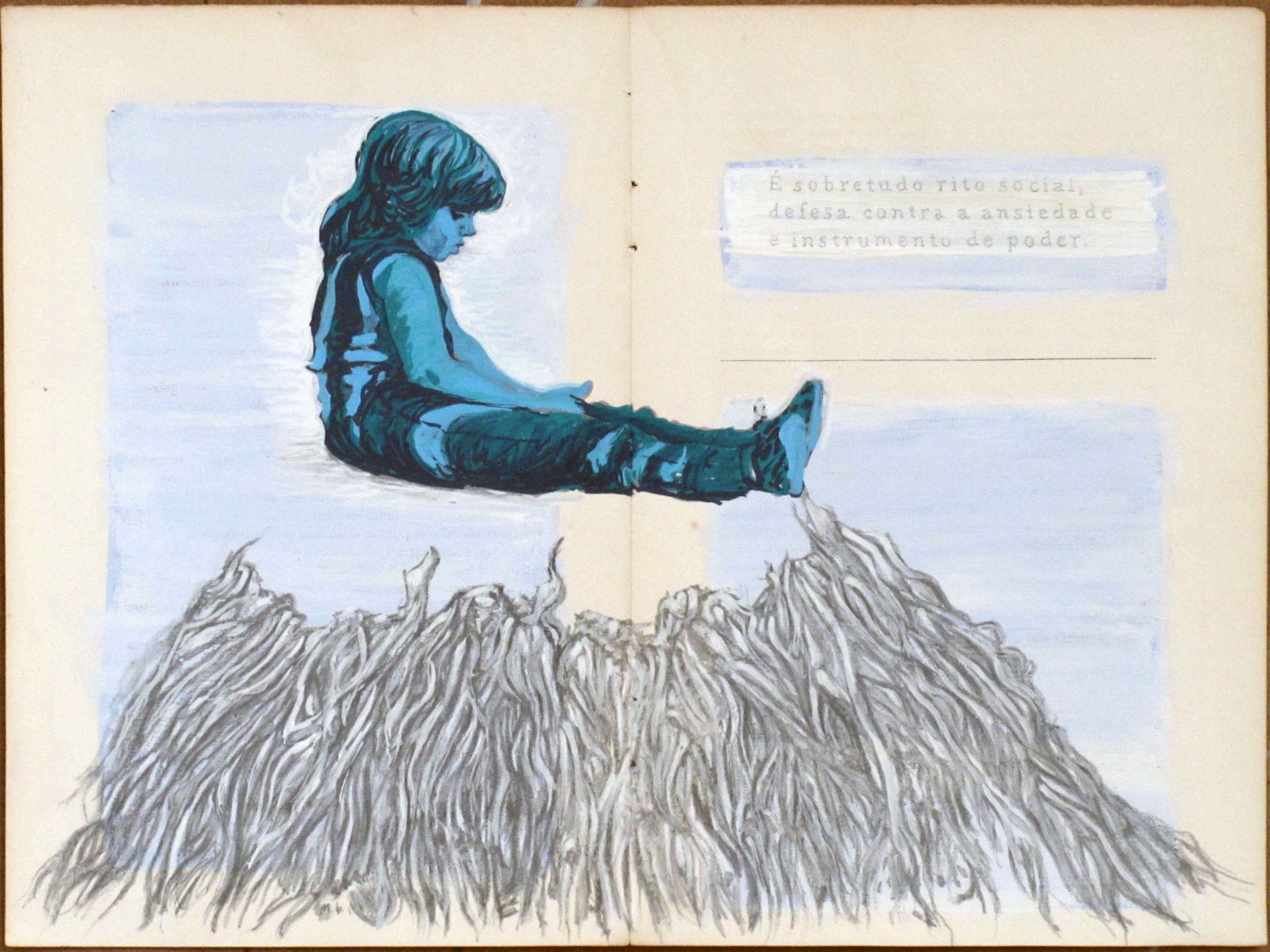 Vernacular Series – Open Book by Teresa Berlinck