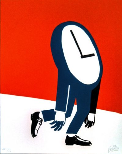Times Dragging by Steve Powers (ESPO)
