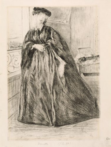 Finette by James Abbott McNeill Whistler at