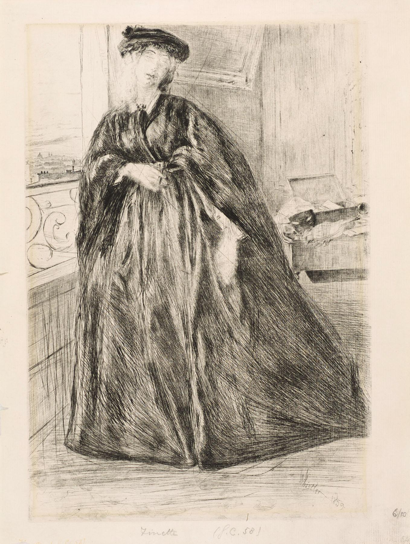 Finette by James Abbott McNeill Whistler