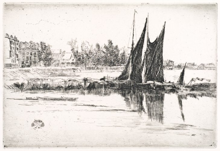 Hurlingham by James Abbott McNeill Whistler at