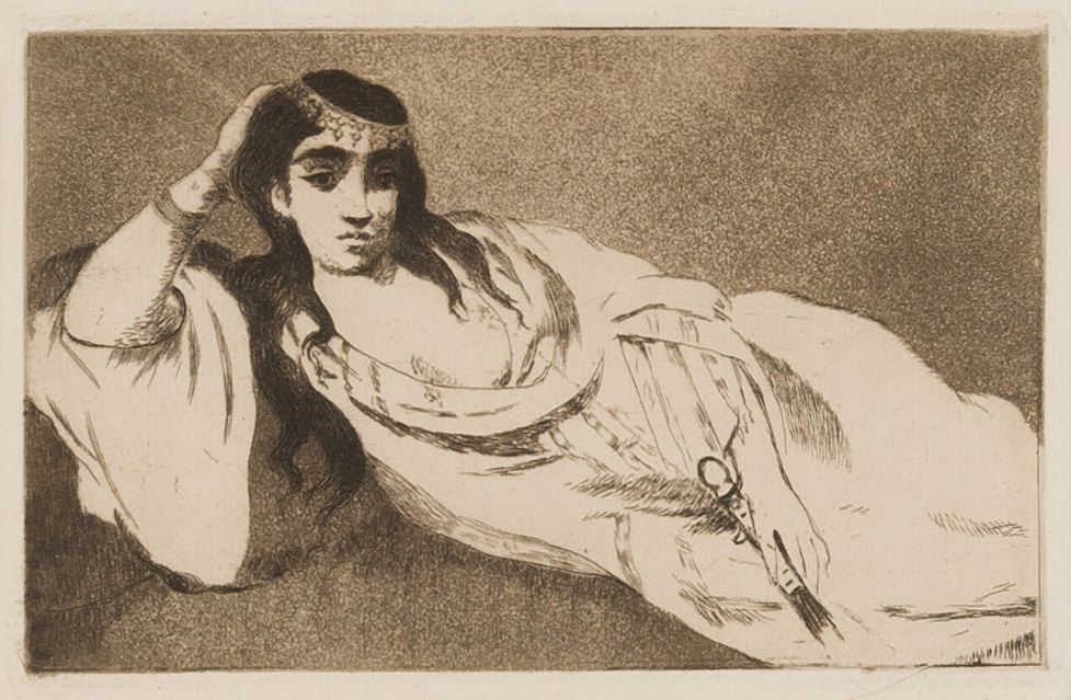 Odalisque by Edouard Manet
