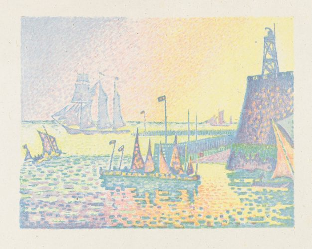 Le Soir – JetÉe De Flessingue by Paul Signac