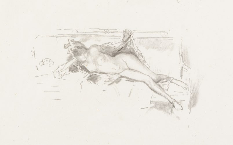 Nude Model, Reclining by James Abbott McNeill Whistler
