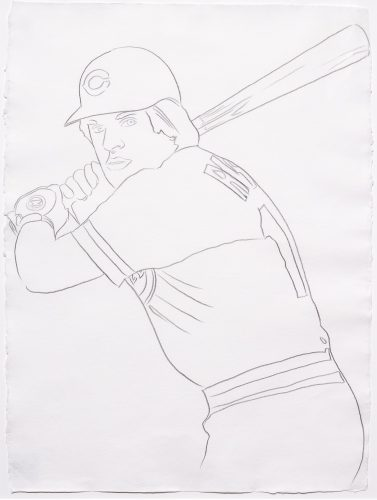 Reds – Pete Rose 1 by Andy Warhol