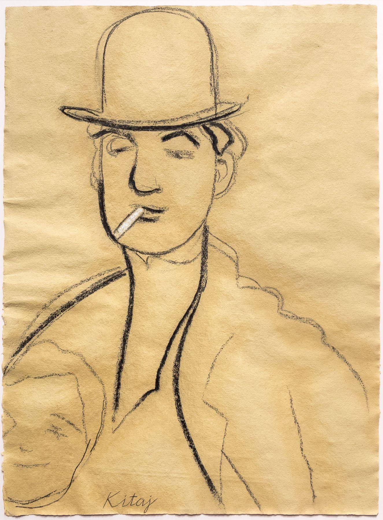 Jules Pascin by R.B. Kitaj
