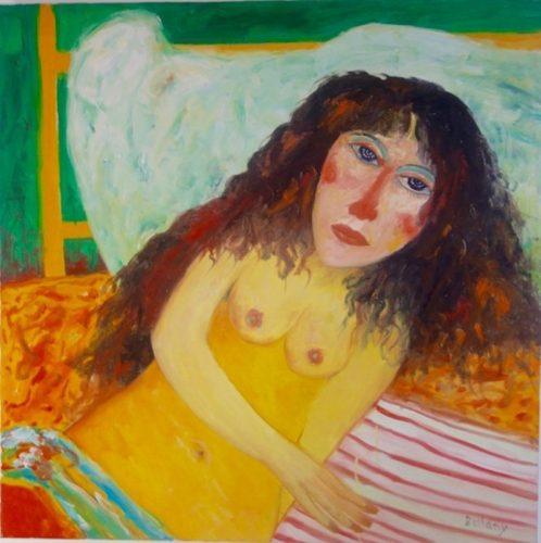 Female Nude by John Bellany