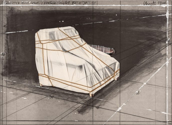 Wrapped Armchair, Project by Christo