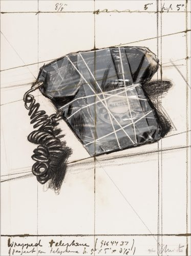 Wrapped Telephone, Project by Christo