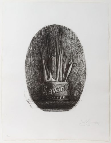 Savarin 4 (Oval) by Jasper Johns