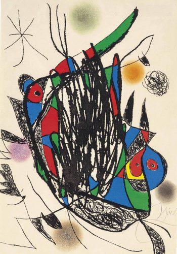 """""""Passage de L'Égyptienne"""" (D.1193) by Joan Miro"""