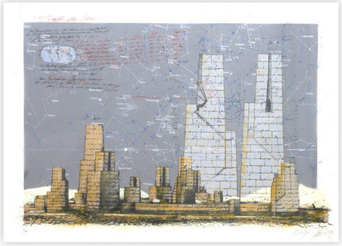 Stadt des Orion by Hansjörg Voth at