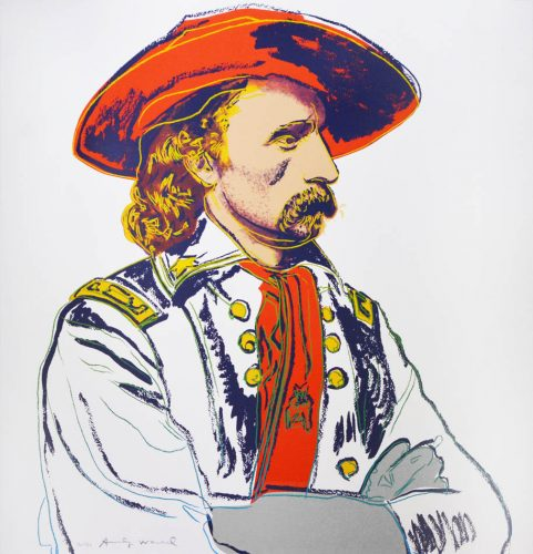 General Custer by Andy Warhol at Shapero Modern