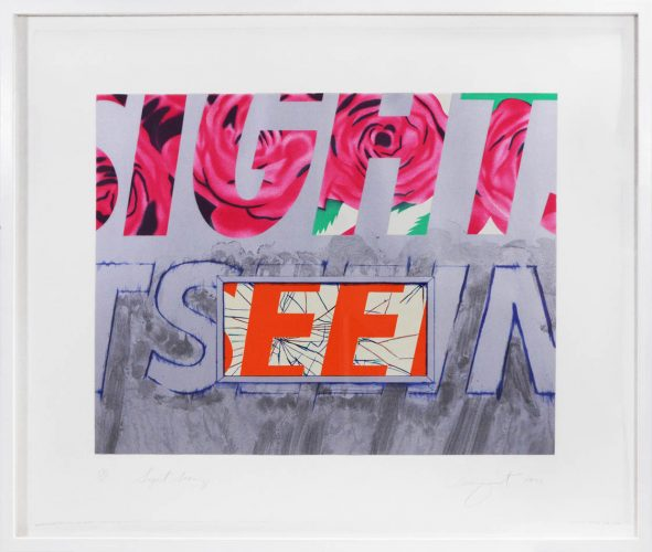 Sight-seeing by James Rosenquist