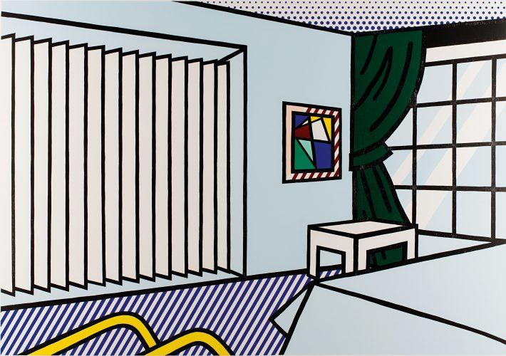 Bedroom (from Interior Series) by Roy Lichtenstein at Shapero Modern
