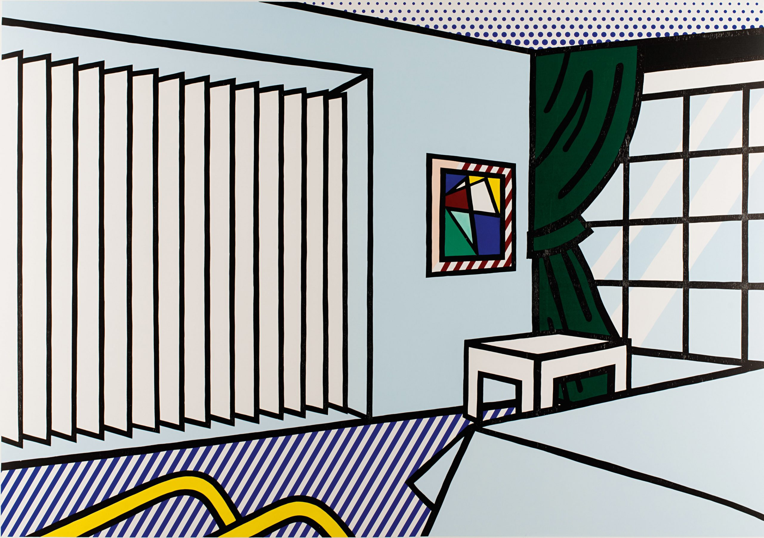 Bedroom (from Interior Series) by Roy Lichtenstein