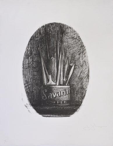 Savarin 4 by Jasper Johns
