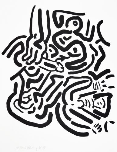 Bad Boys by Keith Haring