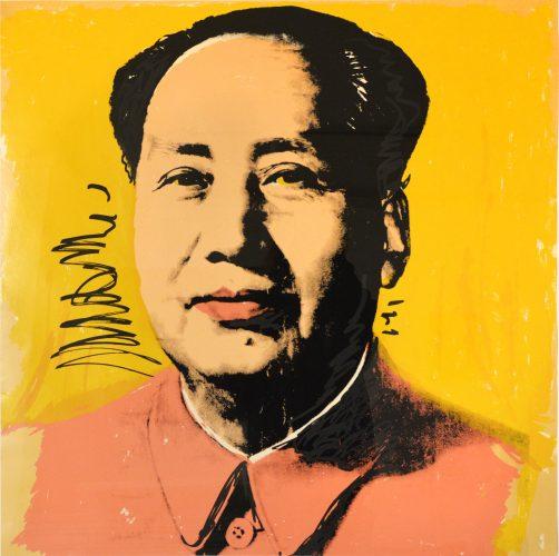 Mao ( II97) by Andy Warhol