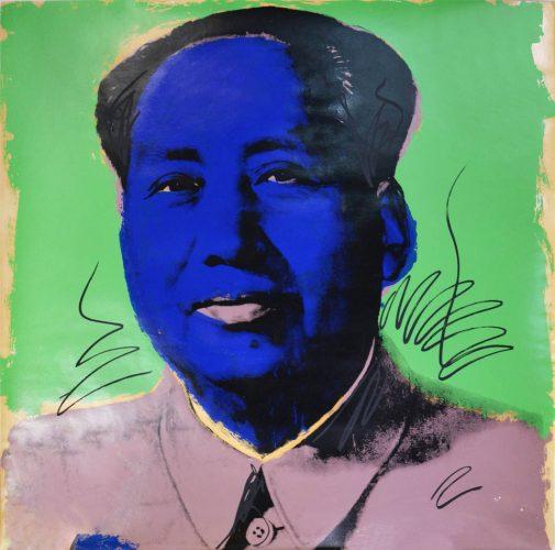 Mao ( II90) by Andy Warhol