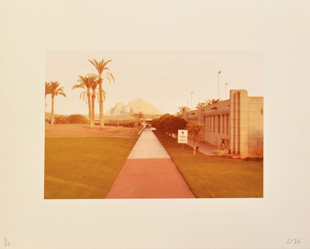 Untitled (Tennis Centre) by David Hockney at