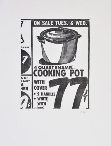 Cooking Pot by Andy Warhol at Shapero Modern