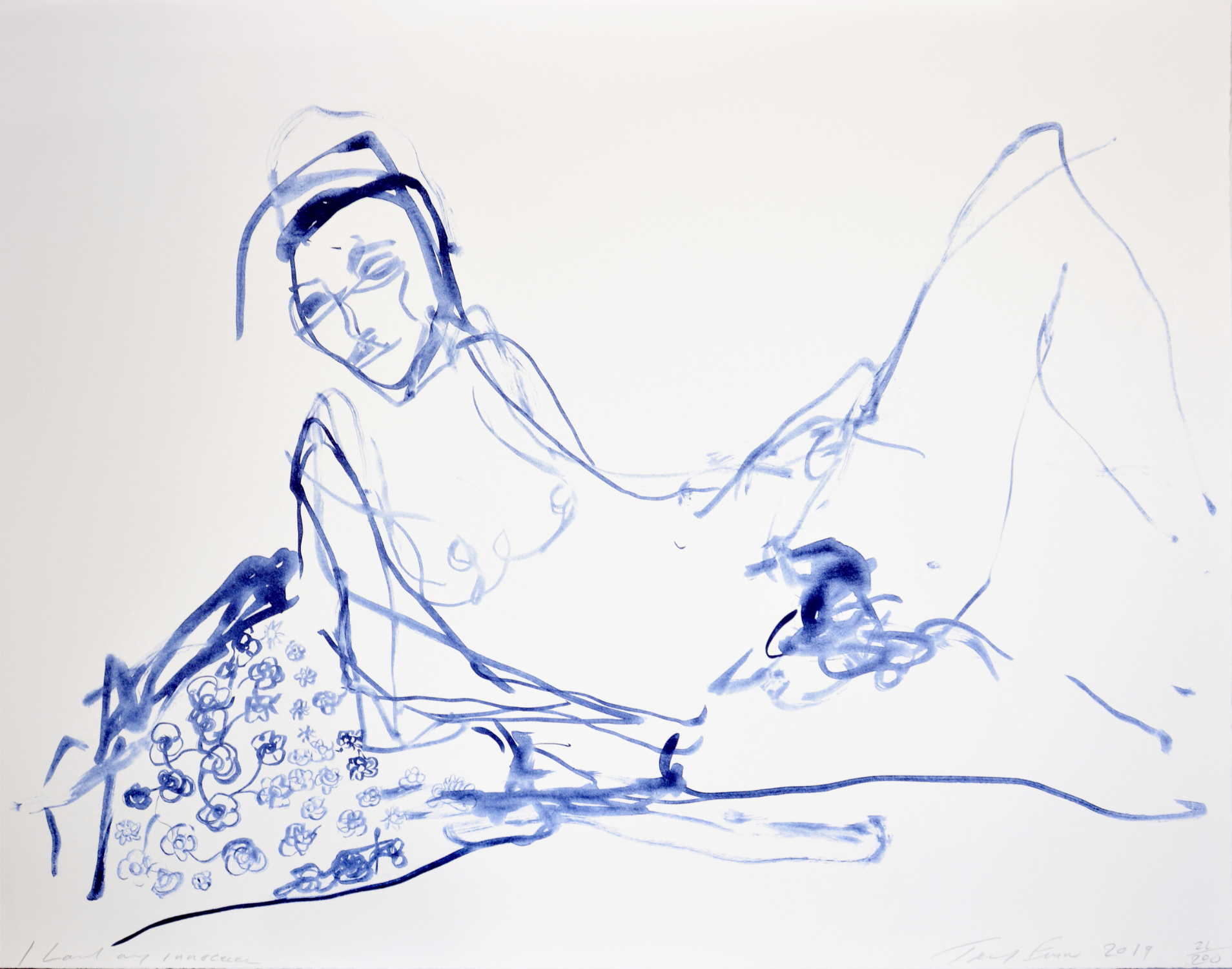 I Loved My Innocence by Tracey Emin