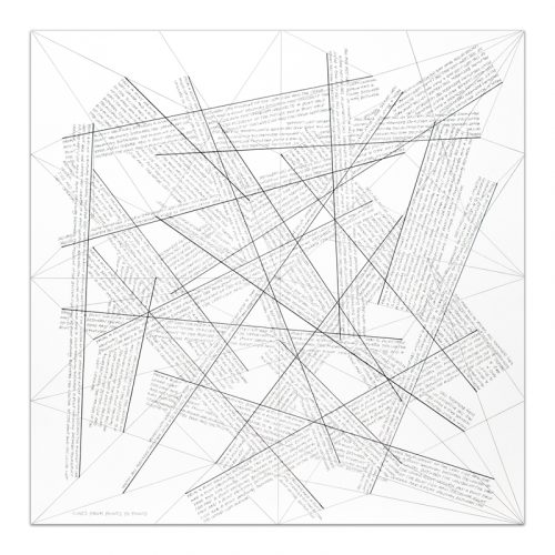 Lines from Points to Points by Sol LeWitt