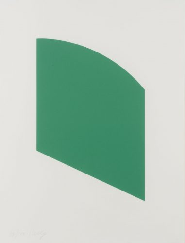 Green Curve by Ellsworth Kelly
